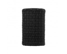 BUFF NECKWARMER KNITTED&POLAR IRON BLACK 111044