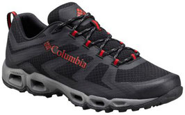 Columbia VENTRALIA 3 LOW BM4601- 010-Black, Mountain Red