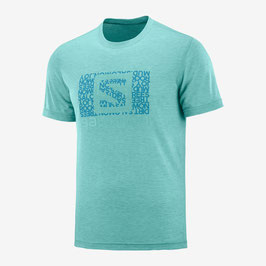 Salomon Explore Graphic SS Tee M 127160-Meadowbrook