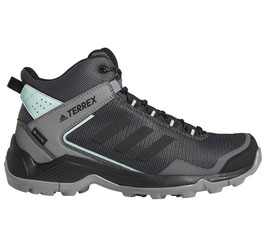 adidas Terrex Eastrail Mid GTX W - F36762 (Grey Four / Core Black / Clear Mint)