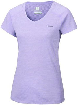 COLUMBIA Camiseta manga corta ZERO RULES 505-Soft Violet Heather