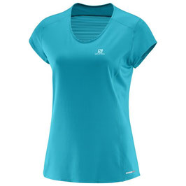 Salomon COMET PLUS SS TEE W Enamel Blue 393019