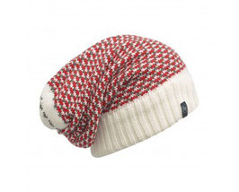 Buff KNITTED NECKWARMER HAT ZILE CREAM 111034.006