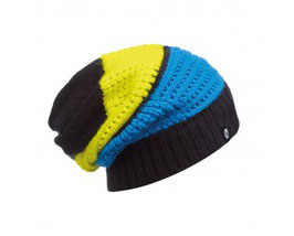 Buff KNITTED NECKWARMER HAT AIDAN BLACK 111036.999