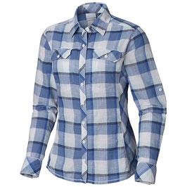 Columbia Camp Henry LS Shirt AL7990-457/Blue Dusk