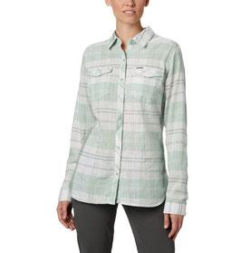 Columbia Camp Henry LS Shirt AL1387-384/New Mint Large Plaid