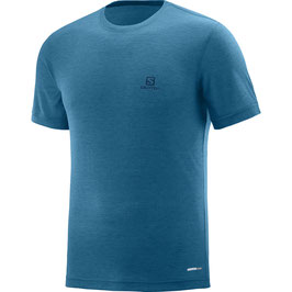 Salomon Explore SS Tee M 4009670-Morocan Blue
