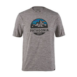 Patagonia Men's Capilene® Daily Graphic T-Shirt 45235-Feather Grey