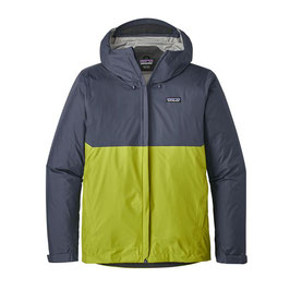 Patagonia M's Torrentshell Jkt  (Dolomite Blue w/Light Gecko Green)