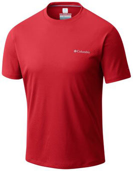 COLUMBIA camiseta ZERO RULES AM6084 696 (Red Spark)
