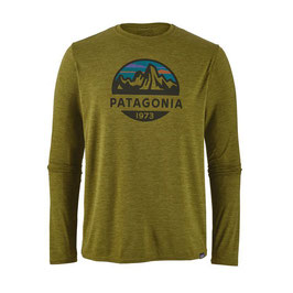 Patagonia Men's Capilene® Daily Graphic T-Shirt 45190-Willw Herb Green