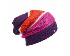 Buff KNITTED NECKWARMER HAT AIDAN PLUM 111036.622