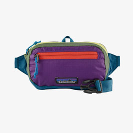 Patagonia Ultralight Black Hole Mini Hip Pack 49447-PWSB(Patchwork: Steller Blue)