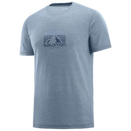 Salomon Explore Graphic SS Tee M-Flit Stone