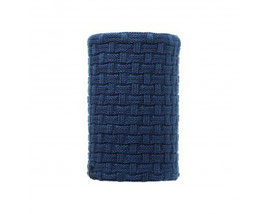 BUFF NECKWARMER KNITTED&POLAR IRON BLUE 113549.707