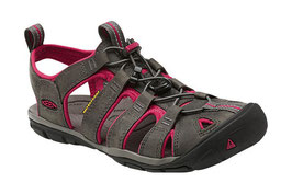 KEEN CLEARWATER LEATHER CNX W Magnet/Sangria 1014370