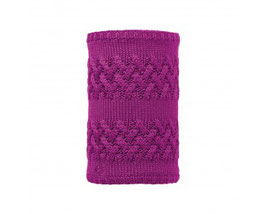 BUFF NECKWARMER KNITTED&POLAR Savva Mardi Grape