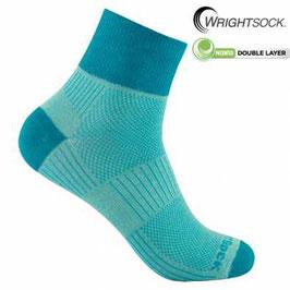 Wrightsock Coolmesh II - Un cuarto (Azul Truquesa)