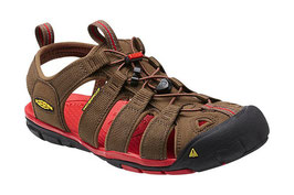 KEEN CLEARWATER CNX Dark Earth/Racing Red 1014452