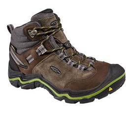 Keen Wanderer Mid WP W 1014766 Raven/Bright Chartreuse
