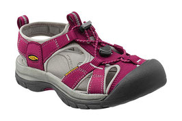 KEEN Venice H2 Beet Red-Neutral Gray 1012238