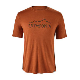 Patagonia Men's Capilene® Daily Graphic T-Shirt 45286-Copper Ore X-Dye