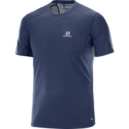 Salomon Trail Runner SS Tee 400995-Dress Blue