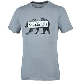Columbia Box Logo Bear Tee EM0745-021
