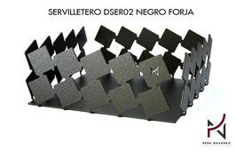 Servilletero DSER02 NEGRO FORJA