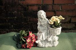 Mädchen mit Blumenkorb und Häschen - Art. 227