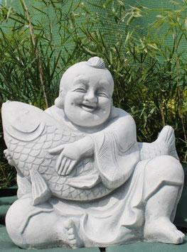 Buddha mitFisch - Art. 747