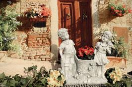 Kinderpaar mit Blumenkorb - Art. 660