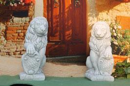 Löwe mit Wappen- Art. 78 links