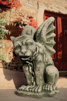 Gargoyl sitzend mit Flügeln - Art. 216