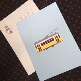 """Postkarte """"Tram"""""""