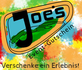 Gutschein Joe's Events