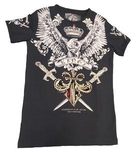 Kingz T-Shirt Schwarz/Gold  MOD 36-12