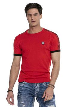 cipo&baxx T-Shirt MOD CT 649 rot