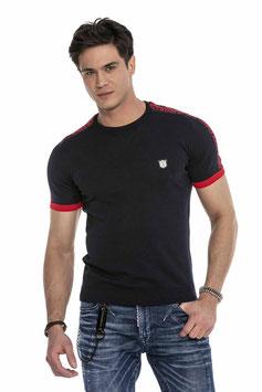cipo&baxx T-Shirt MOD CT 649 blau