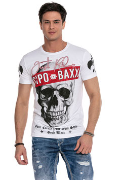 cipo&baxx T-Shirt MOD CT610 weiß