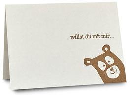 3 «Willst du mit mir...»