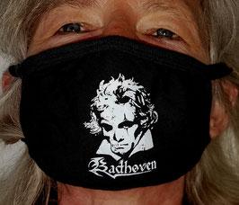 Badhoven Corona-Maske black