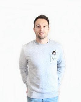 Taschen Grantler Sweatshirt grau