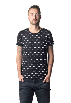 Pfeifen All -Over  Shirt black