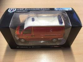 Miniature VSAV Sapeurs-Pompiers  - Investiture des 2 CSP - Collection 1959 - 2012- CSP de BESANCON