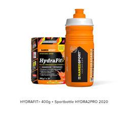 HYDRAFIT> 400G + SPORTBOTTLE HYDRA2PRO 2020