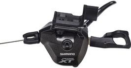 Maneta de cambio Shimano Deore XT SL-M8000 I-Spec II 2/3 velocidades negro  Izquierdo (2021) (OCASIÓN)