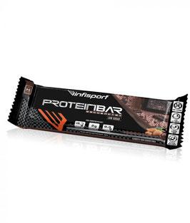 INSPORT PROTEIN BAR SECUENCIAL SABOR A CHOCOLATE-CHOCOLATE Y SABOR FRESA-CHOCOLATE