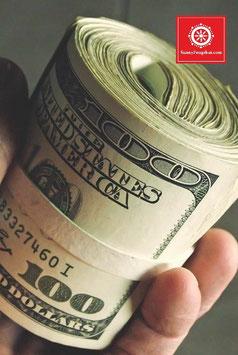 Индивидуальный расчет - Зеленый Дракон поворачивающий голову -  получение прибыли