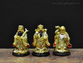 Фук Лук Сау (Три звездных старца), высота 7 см